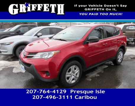2015 Toyota RAV4 for sale at Griffeth Mitsubishi - Pre-owned in Caribou ME
