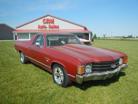 1972 Chevrolet El Camino for sale at Custom Rods and Muscle in Celina OH
