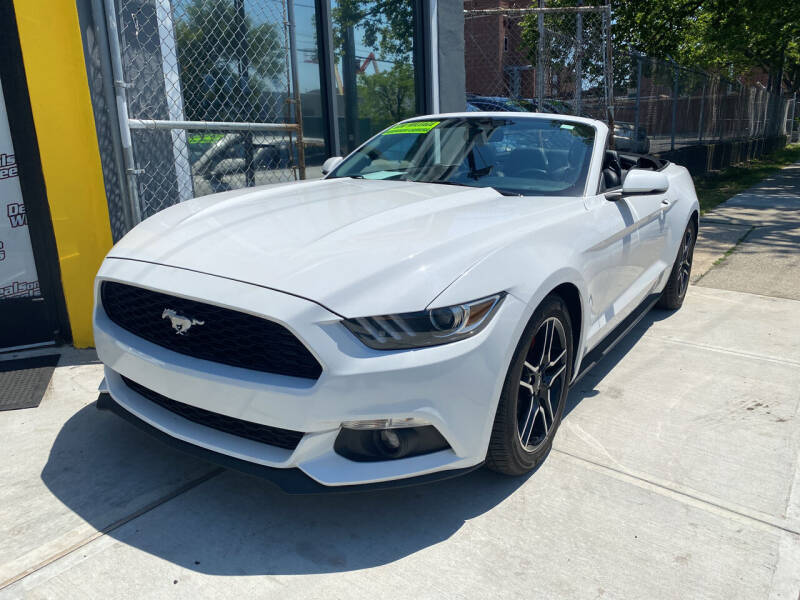 2017 Ford Mustang for sale at DEALS ON WHEELS in Newark NJ
