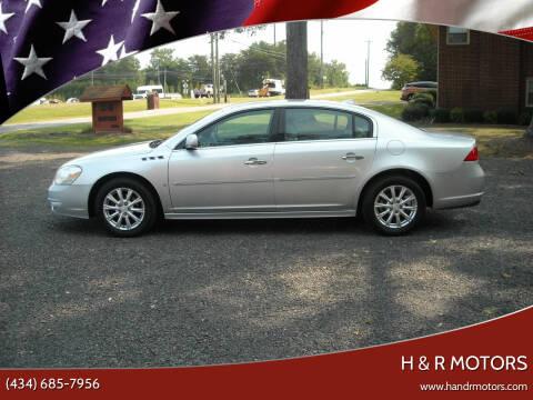 2010 Buick Lucerne for sale at H & R Motors in Danville VA