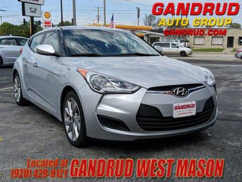 2016 Hyundai Veloster for sale at GANDRUD CHEVROLET in Green Bay WI