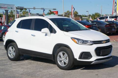 2018 Chevrolet Trax for sale at Concept Auto Inc in Miami FL