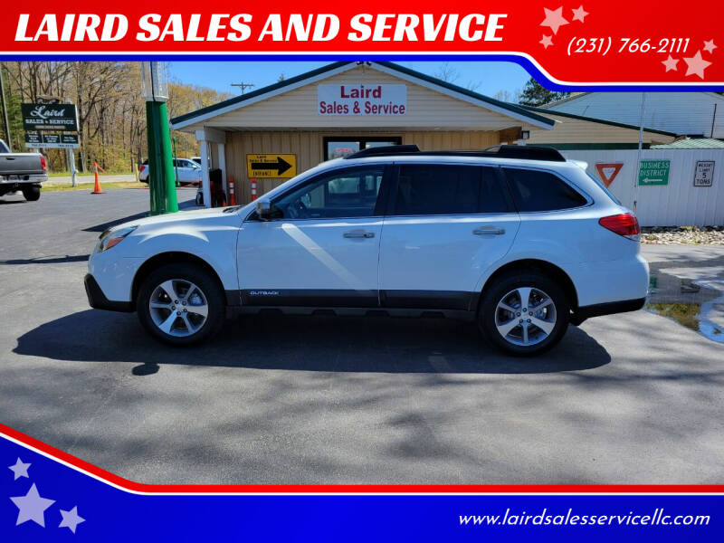2014 Subaru Outback for sale at LAIRD SALES AND SERVICE in Muskegon MI