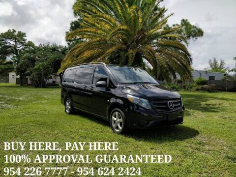 2016 Mercedes-Benz Metris for sale at Transcontinental Car in Fort Lauderdale FL