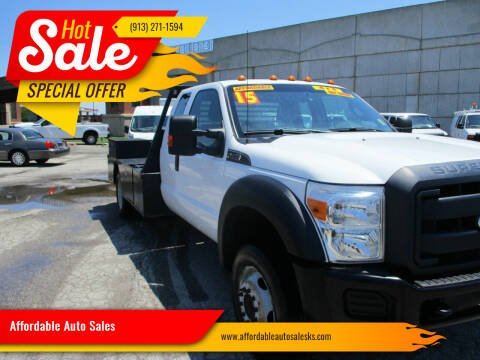 2015 Ford F-450 Super Duty for sale at Affordable Auto Sales in Olathe KS