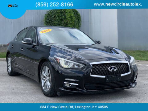 2017 Infiniti Q50 for sale at New Circle Auto Sales LLC in Lexington KY