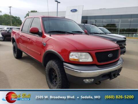 2002 Ford F-150 for sale at RICK BALL FORD in Sedalia MO