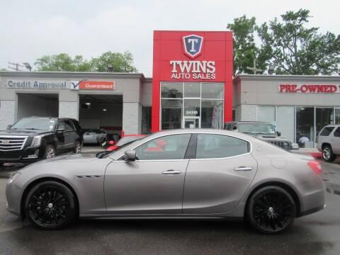 2015 Maserati Ghibli for sale at Twins Auto Sales Inc in Detroit MI