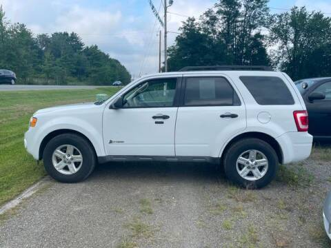 2011 Ford Escape Hybrid for sale at Upstate Auto Sales Inc. in Pittstown NY