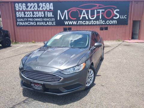 2017 Ford Fusion for sale at MC Autos LLC in Pharr TX