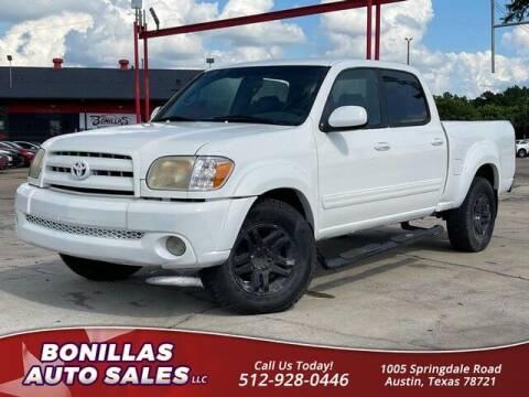 2005 Toyota Tundra for sale at Bonillas Auto Sales in Austin TX