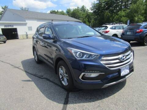 2018 Hyundai Santa Fe Sport for sale at BELKNAP SUBARU in Tilton NH