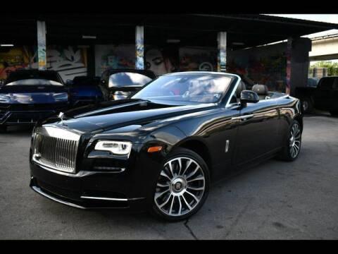 2018 Rolls-Royce Dawn for sale at AE Of Miami in Miami FL
