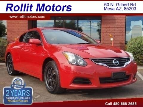 2012 Nissan Altima for sale at Rollit Motors in Mesa AZ