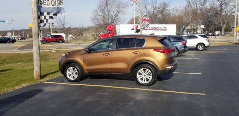 2018 Kia Sportage for sale at SINDIC MOTORCARS INC in Muskego WI