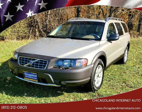 2004 Volvo XC70 for sale at Chicagoland Internet Auto - 410 N Vine St New Lenox IL, 60451 in New Lenox IL