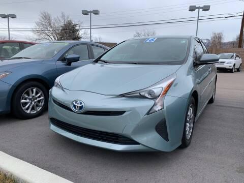 2016 Toyota Prius for sale at Berge Auto in Orem UT