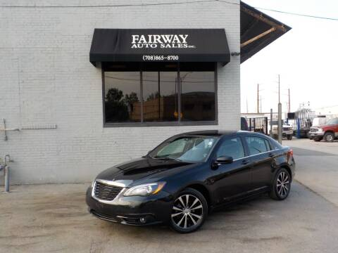 2014 Chrysler 200 for sale at FAIRWAY AUTO SALES, INC. in Melrose Park IL