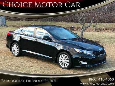 2014 Kia Optima for sale at Choice Motor Car in Plainville CT