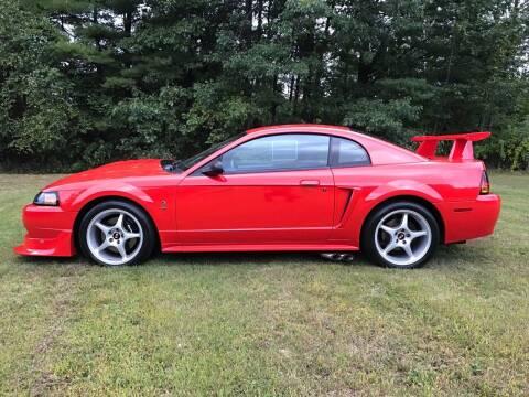 2000 Ford Mustang SVT Cobra for sale at Cella  Motors LLC in Auburn NH