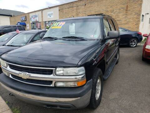 2004 Chevrolet Tahoe for sale at 611 CAR CONNECTION in Hatboro PA