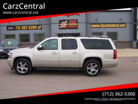2013 Chevrolet Suburban for sale at CarzCentral in Estherville IA