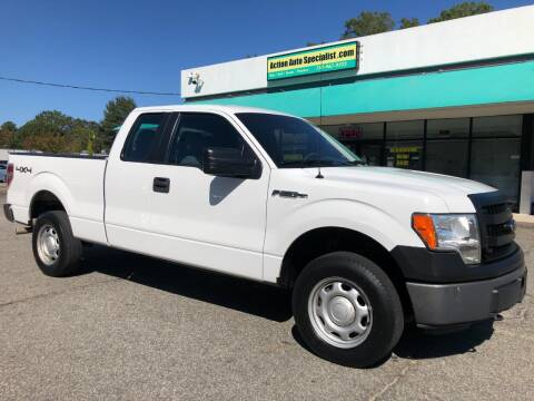 2013 Ford F-150 for sale at Action Auto Specialist in Norfolk VA