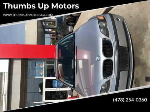 2003 BMW 3 Series for sale at Thumbs Up Motors in Warner Robins GA