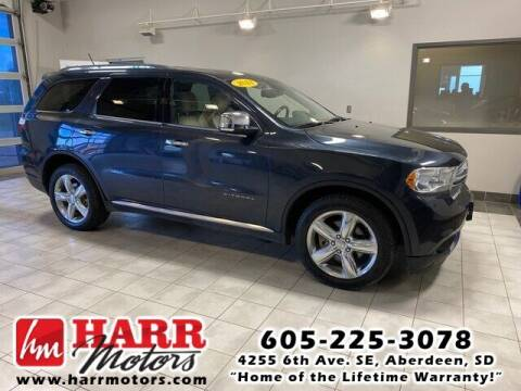 2013 Dodge Durango for sale at Harr Motors Bargain Center in Aberdeen SD