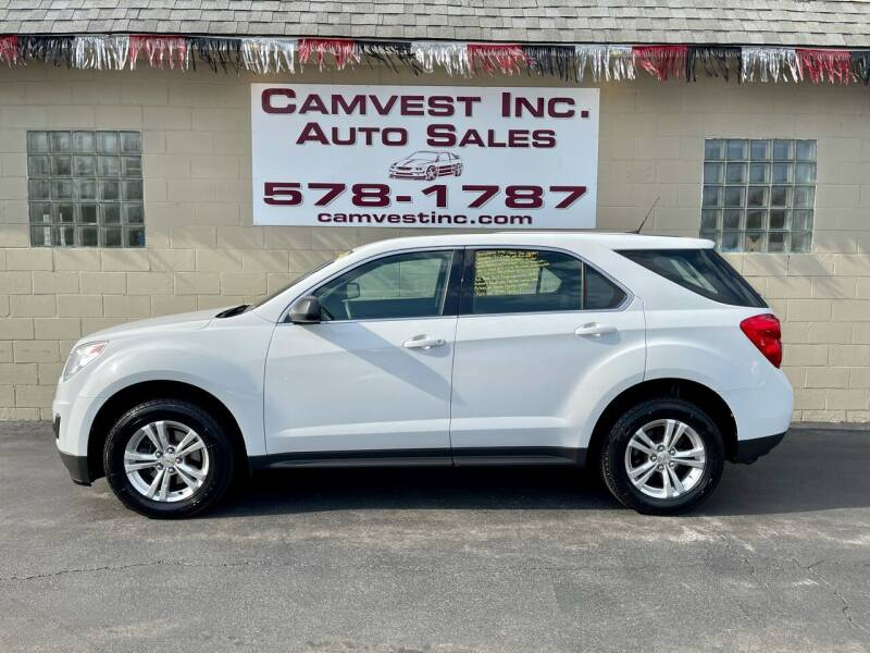 2012 Chevrolet Equinox for sale at Camvest Inc. Auto Sales in Depew NY