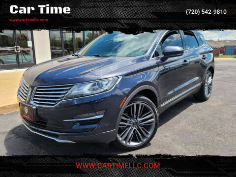 2015 Lincoln MKC for sale at Car Time in Denver CO