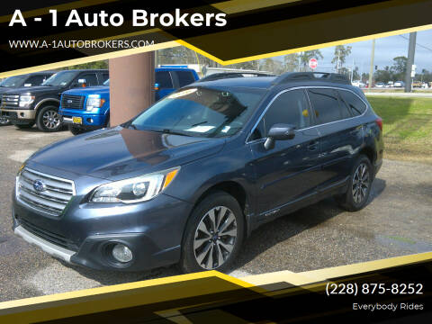 2016 Subaru Outback for sale at A - 1 Auto Brokers in Ocean Springs MS