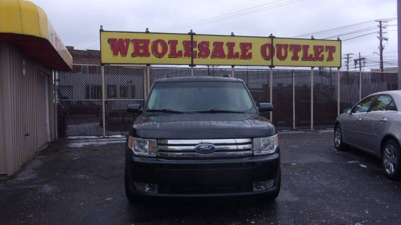 2011 Ford Flex for sale at LONG BROTHERS CAR COMPANY in Cleveland OH