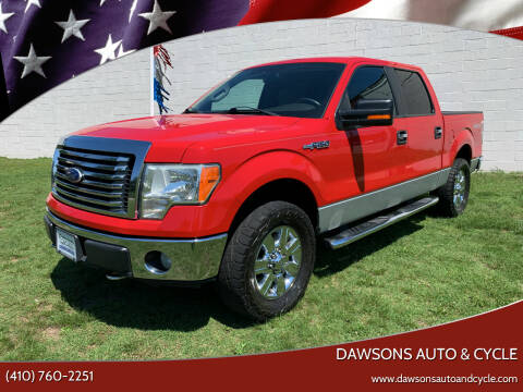 2010 Ford F-150 for sale at Dawsons Auto & Cycle in Glen Burnie MD