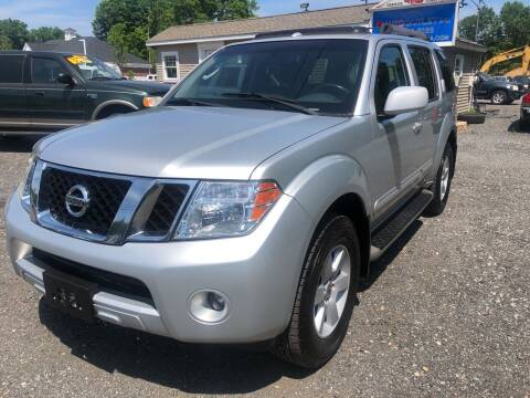 2008 Nissan Pathfinder for sale at AUTO OUTLET in Taunton MA