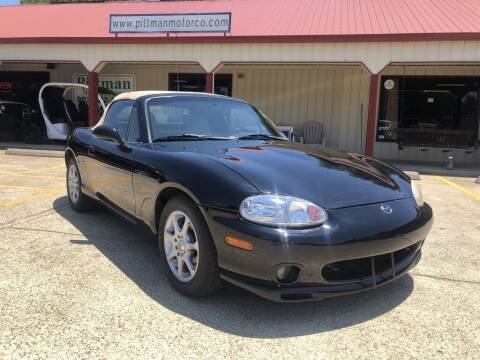1999 Mazda MX-5 Miata for sale at PITTMAN MOTOR CO in Lindale TX