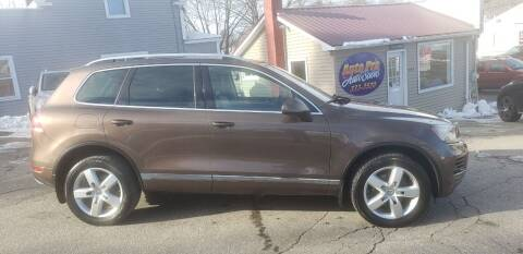 2012 Volkswagen Touareg for sale at Auto Pro Auto Sales-797 Sabattus St. in Lewiston ME
