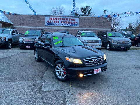 2008 Infiniti FX35 for sale at Brothers Auto Group in Youngstown OH