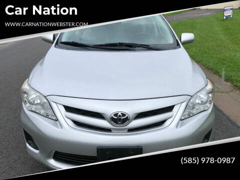 2012 Toyota Corolla for sale at Car Nation in Webster NY