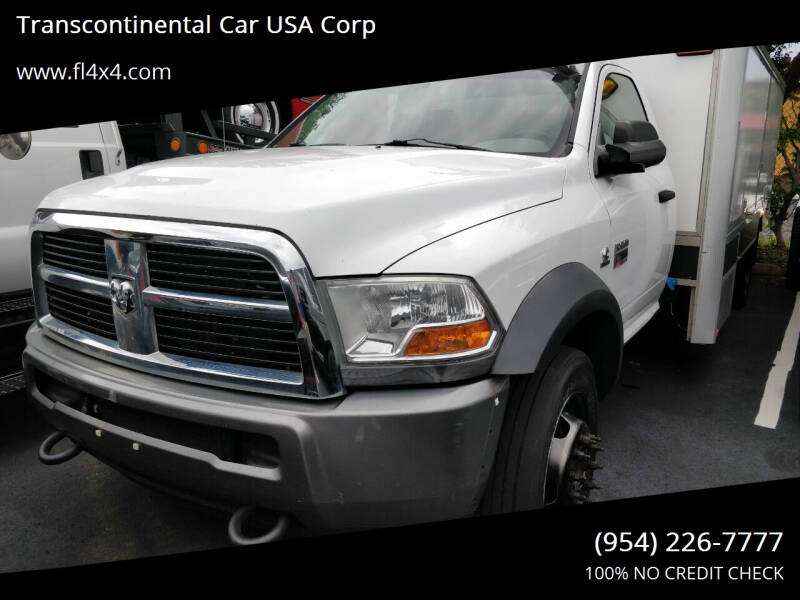2011 RAM Ram Chassis 5500 4X2 2dr Regular Cab 143.5-204.5 in. WB - Fort Lauderdale FL