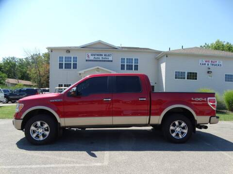 2011 Ford F-150 for sale at SOUTHERN SELECT AUTO SALES in Medina OH