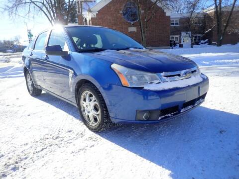 2008 Ford Focus for sale at Marvel Automotive Inc. in Big Rapids MI