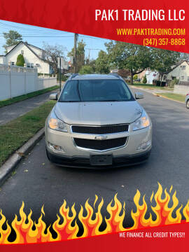 2012 Chevrolet Traverse for sale at Pak1 Trading LLC in South Hackensack NJ