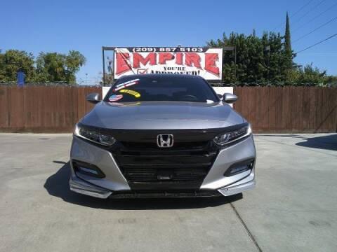2018 Honda Accord for sale at Empire Auto Sales in Modesto CA