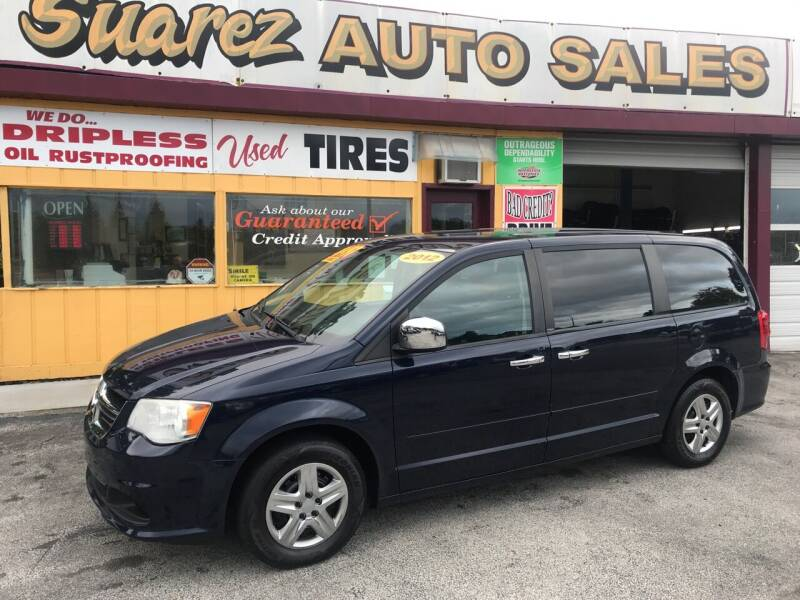 2012 Dodge Grand Caravan for sale at Suarez Auto Sales in Port Huron MI