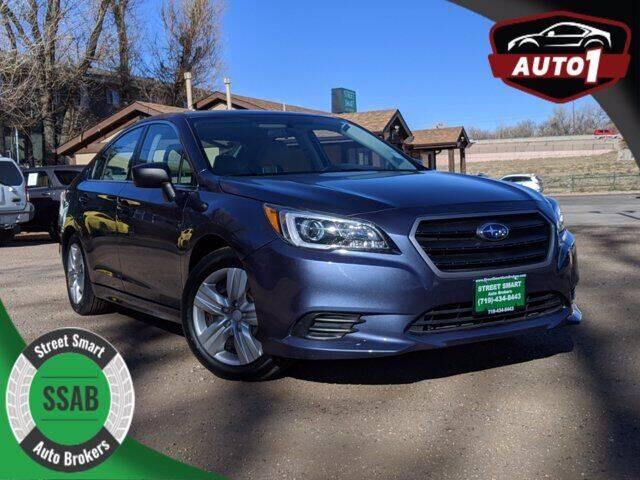 2017 Subaru Legacy for sale at Street Smart Auto Brokers in Colorado Springs CO