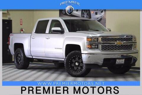 2015 Chevrolet Silverado 1500 for sale at Premier Motors in Hayward CA