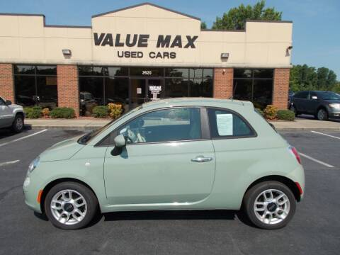 2013 FIAT 500 for sale at ValueMax Used Cars in Greenville NC