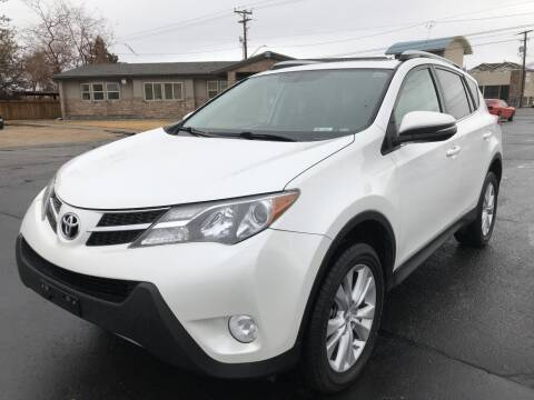 2013 Toyota RAV4 for sale at INVICTUS MOTOR COMPANY in West Valley City UT