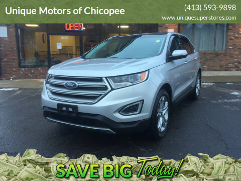 2015 Ford Edge for sale at Unique Motors of Chicopee in Chicopee MA